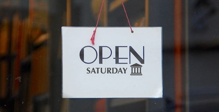 banks open on saturday