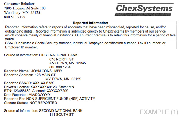 chexsystems-report-example